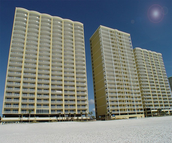 Long Beach Resort In Panama City Fl Ocean Villa
